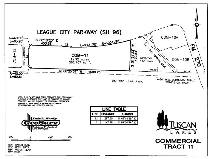 Tuscan Lakes Commercial Tract