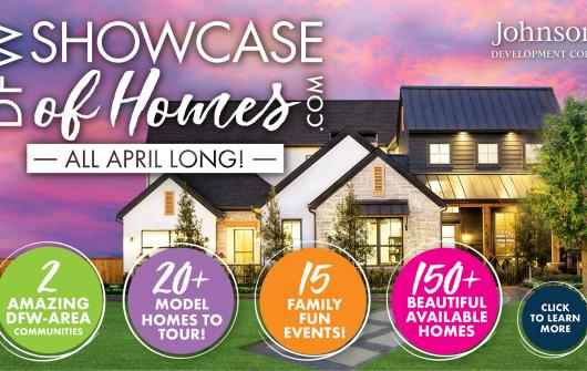 Inspiration Awaits at DFW Showcase of Homes