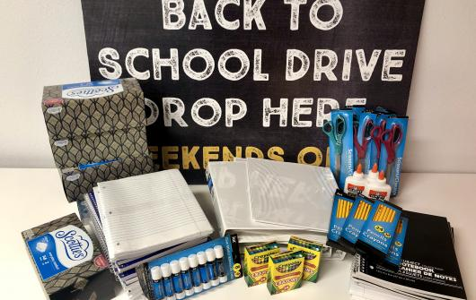 Supply Drive Gives Students a Boost