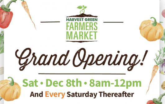 Our Farmers Market Returns Dec. 8