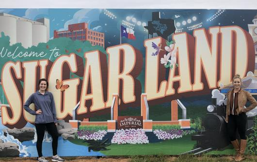 Imperial Pop-Up Art Honors Sugar Land History