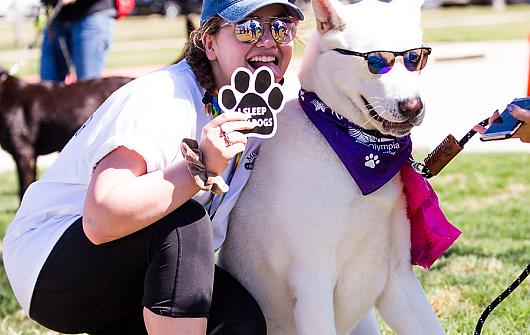 Pups Promenade for Cancer Research March 23