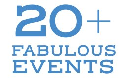 20+ Fabulous Events