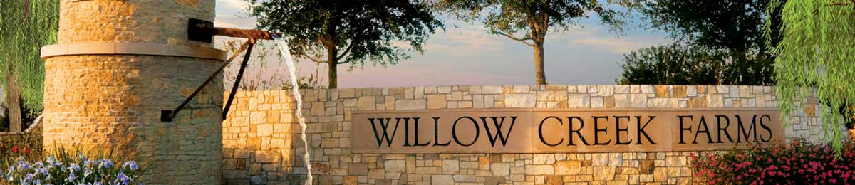 Willow creek farms in katy tx johnson development corp for Lodge at willow creek